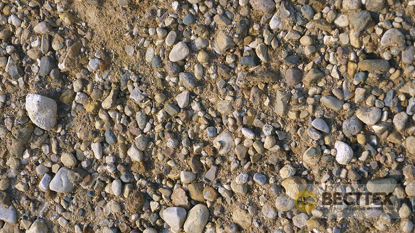 смесь песчано гравийная фото